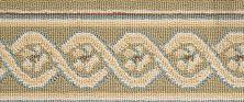 Luxe Pointe Nourison  Flower Trellis Lp13 Black Border GREEN 1-LP13IVGRNBO0008WV