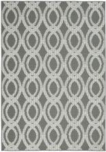 Nourison Aruba Ivory/Grey 4'3″ x 6'3″ ARB05VRYGRY4X6