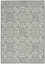 Nourison Aruba Ivory/Grey 5'3″ x 7'3″ ARB02VRYGRY5X7