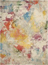Nourison Celestial Ivory/Multicolor 9'0″ x 12'0″ CES12VRYMLTCLR9X12