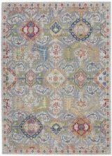 Nourison Ankara Global Grey/Multicolor 5'3″ x 7'6″ ANR12GRYMLTCLR5X8