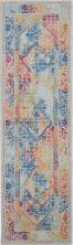 Nourison Ankara Global Ivory/Multicolor 2'4″ x 8'0″ Runner ANR04VRYMLTCLR8RUNNER
