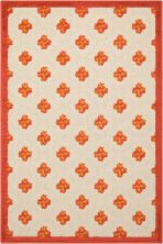 Nourison Aloha Red 2'8″ x 4'0″ ALH02RD3X4