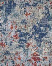 Nourison Artworks Navy/Brick 9'6″ x 12'6″ ATW01NVYBRCK10X13