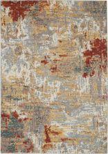 Nourison Artworks Silver/Grey/Yellow 5'6″ x 8'0″ ATW03SLVRGYYLLW6X8