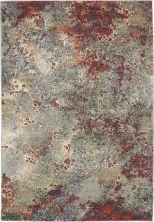 Nourison Artworks Seafoam/Brick 5'6″ x 8'0″ ATW02SFMBRCK6X8