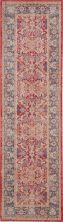 Nourison Ankara Global Red 2'4″ x 8'0″ Runner ANR02RD8RUNNER