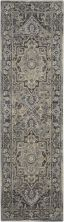 Kathy Ireland Moroccan Celebration Navy 2'2″ x 7'6″ Runner KI381NVY8RUNNER