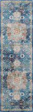 Nourison Ankara Global Blue 2'4″ x 8'0″ Runner ANR03BL8RUNNER