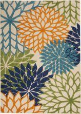 Nourison Aloha Contemporary Multicolor 5'3″ x 7'5″ ALH05MLTCLR5X8