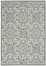 Nourison Aruba Ivory/Grey 4'3″ x 6'3″ ARB02VRYGRY4X6