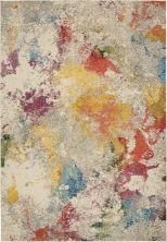 Nourison Celestial Ivory/Multicolor 6'7″ x 9'7″ CES12VRYMLTCLR7X10