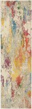 Nourison Celestial Ivory/Multicolor 2'2″ x 7'6″ Runner CES12VRYMLTCLR8RUNNER