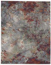 Nourison Artworks Seafoam/Brick 8'6″ x 11'6″ ATW02SFMBRCK9X12