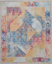 "Nourison Ankara Global Ivory/Multicolor 7'10"" x 9'10"" ANR04VRYMLTCLR8X10"
