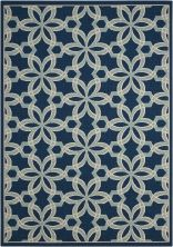 Nourison Caribbean Navy 9'3″ x 12'9″ CRB05NVY9X13