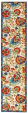 Nourison Aloha Transitional Multicolor 2'3″ x 12'0″ Runner ALH17MLTCLR12RUNNER
