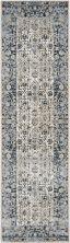 Kathy Ireland Ki25 Rustic/Vintage, Traditional, Ivory/Blue 2'2″ x 7'7″ Runner MAI04VRYBL8RUNNER