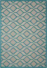 Nourison Aloha Contemporary Blue 3'6″ x 5'6″ ALH03BL4X6