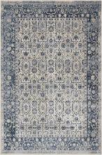 Kathy Ireland Ki25 Rustic/Vintage, Traditional, Ivory/Blue 5'3″ x 7'7″ MAI04VRYBL5X8
