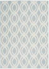 Nourison Aruba Light Blue/Cream 4'3″ x 6'3″ ARB05LGHTBLCRM4X6