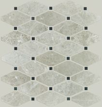 Shaw Floors Ceramic Solutions Rio Diamond Plsh Mosaic Ritz Grey 00500_CS03Z