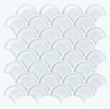 Shaw Floors Ceramic Solutions Cardinal Fan Glass Mosaic Ice 00100_CS16Z