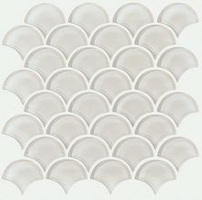 Shaw Floors Ceramic Solutions Cardinal Fan Glass Mosaic Mist 00250_CS16Z