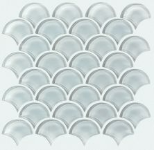 Shaw Floors Ceramic Solutions Cardinal Fan Glass Mosaic Cloud 00500_CS16Z
