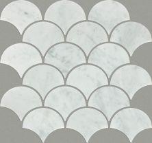 Shaw Floors Ceramic Solutions Chateau Fan Mo Bianco Carrara 00150_CS22X