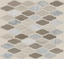 Shaw Floors Ceramic Solutions Chateau Ornament Mosaic Bianco C Rockw Urba 00125_CS27Z