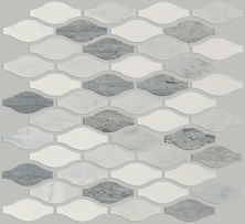 Shaw Floors Ceramic Solutions Chateau Ornament Mosaic Bianco C Blue G Thas 00511_CS27Z