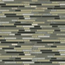 Shaw Floors Ceramic Solutions Awesome Mix Random Linear Mosa Silver Aspen 00555_CS35X