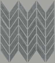 Shaw Floors Ceramic Solutions Geoscape Chevron Dark Grey 00550_CS46X