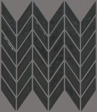 Shaw Floors Ceramic Solutions Geoscape Chevron Black 00555_CS46X