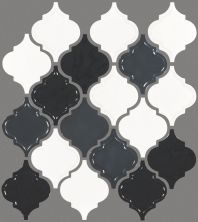 Shaw Floors Ceramic Solutions Geoscape Lantern Black/White 00151_CS49V
