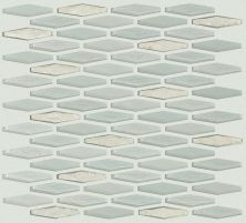 Shaw Floors Ceramic Solutions Molten Stretch Hexagon Glass Platinum 00150_CS54V