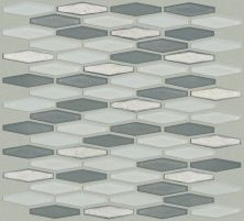 Shaw Floors Ceramic Solutions Molten Stretch Hexagon Glass Nickel 00510_CS54V