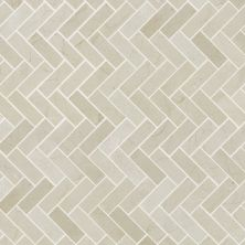 Shaw Floors Ceramic Solutions Chateau Herringbone Mosaic Crema Marfil 00200_CS57P