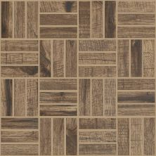 Shaw Floors Ceramic Solutions Fired Hickory Mosaic Pecan 00750_CS57Q