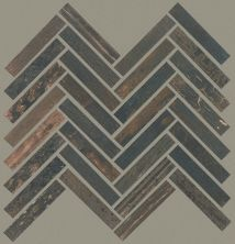 Shaw Floors Emberwood Herringbone Mosaic Burned 00719_CS92Z