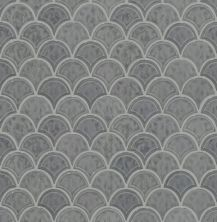 Shaw Floors Ceramic Solutions Geoscape Fan Dark Gray 00550_CS99V
