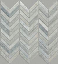 Shaw Floors SFA Pearl Chevron Mosaic Biancocarrara/Blue Grigio 00155_SA31A