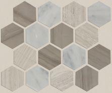 Shaw Floors SFA Pearl Mosaic Hex Bianco C Rockw Urba 00125_SA33A