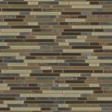 Shaw Floors Home Fn Gold Ceramic Awesome Mix Random Linear Mosi Amber Tea 00427_TG63B