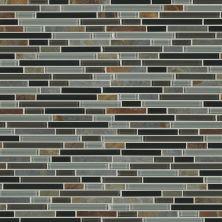 Shaw Floors Home Fn Gold Ceramic Awesome Mix Random Linear Mosi Smoky Mica 00565_TG63B