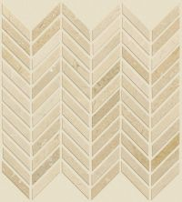 Shaw Floors Home Fn Gold Ceramic Estate Chevron Mo Crema Marfil 00200_TG87B