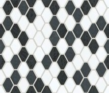 Shaw Floors Home Fn Gold Ceramic Geoscapes Diamond Black/White 00151_TGJ79