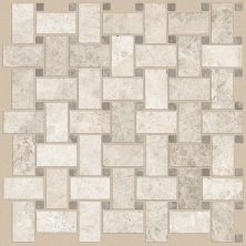 Shaw Floors Home Fn Gold Ceramic Del Ray Basketweave Mosaic Harbor 00255_TGL27