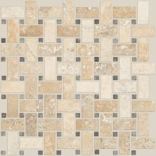 Shaw Floors Home Fn Gold Ceramic Del Ray Basketweave Mosaic Spinnaker 00270_TGL27